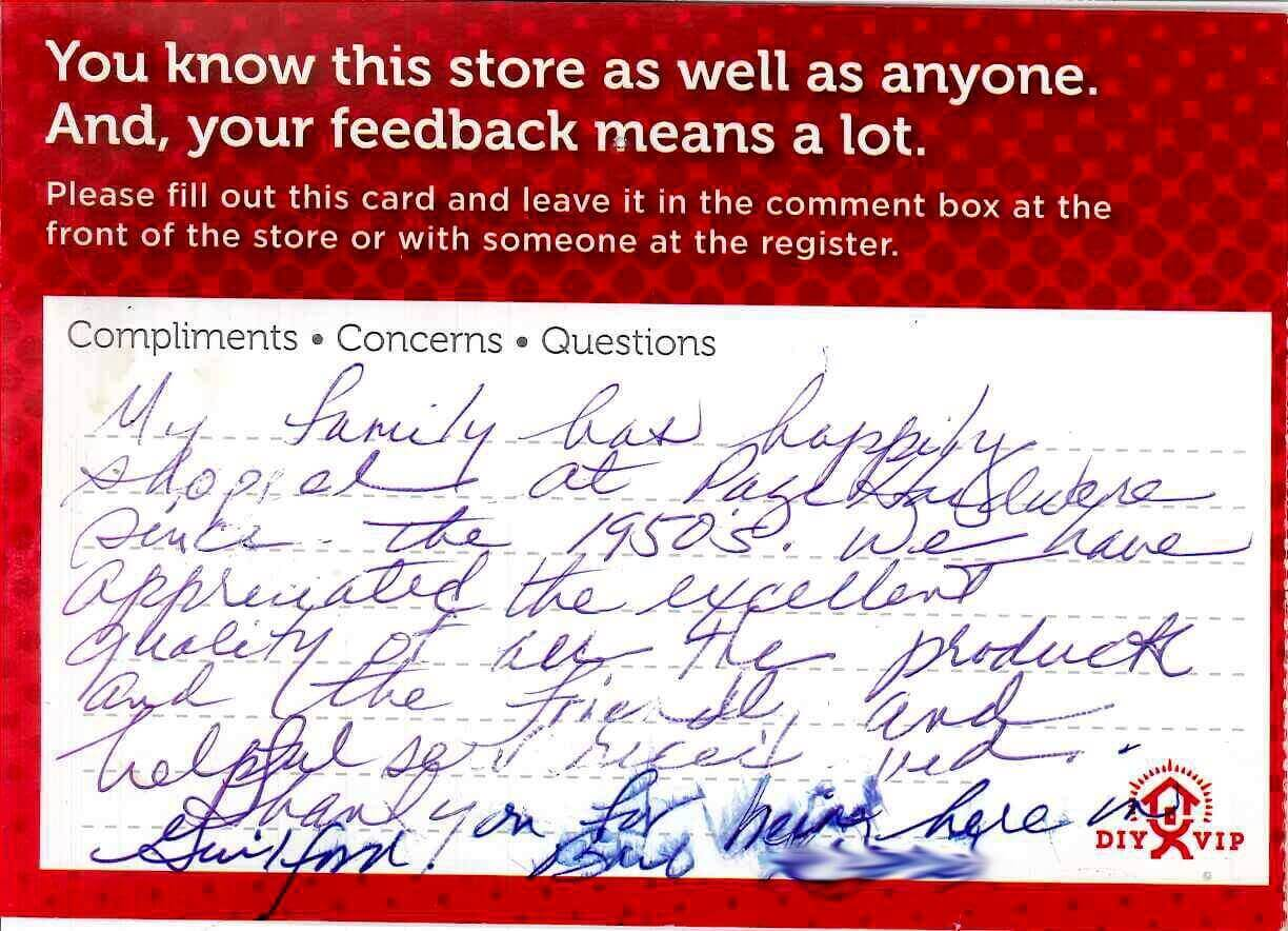 Testimonial from our customer, Bill